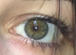 do my eyes look hazel or green?