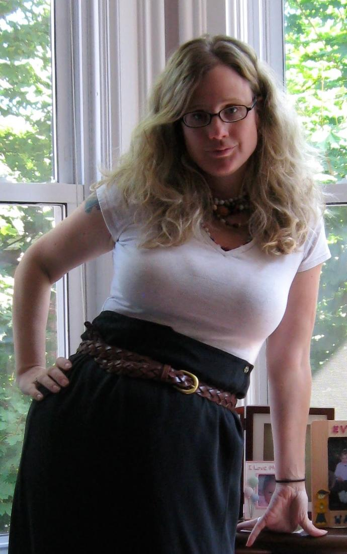 Even when I'm fully dressed, (wearing a bra & white shirt) why do guys still continue to stare at my breasts!?