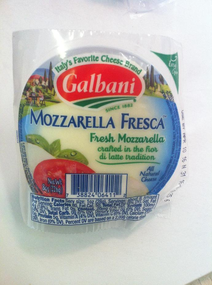 What can I do with this mozzarella?