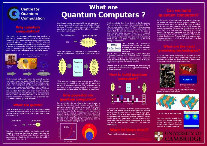 What are your thoughts about Quantum computers?