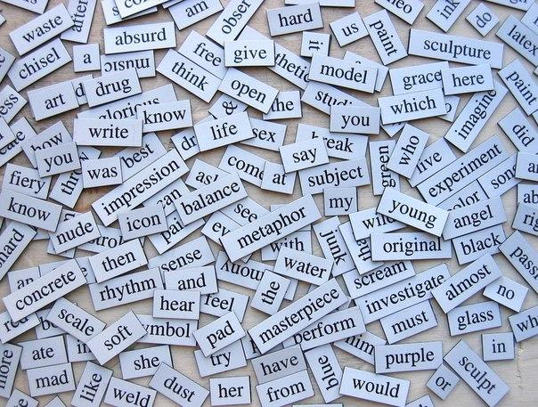 Can you make a mini story using some of these words?