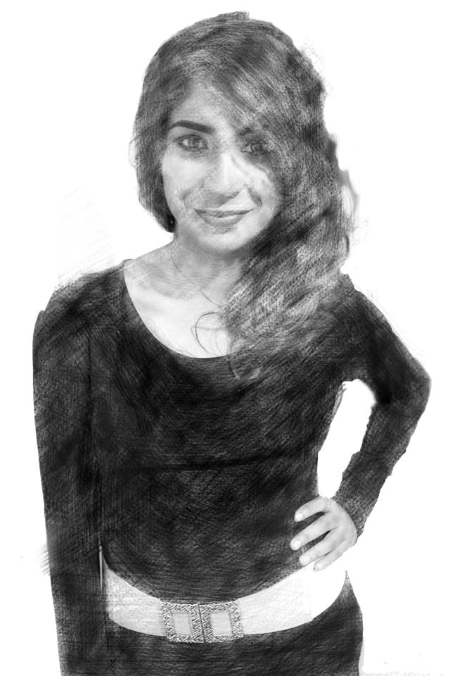 How is this drawing i did of my friend ?