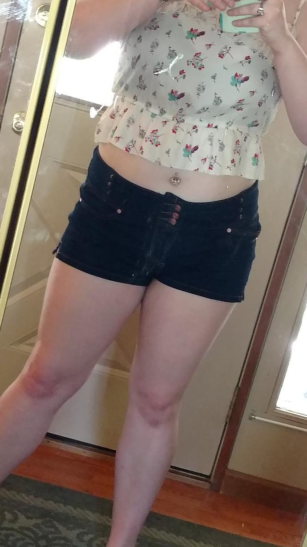 I know I'm a fat girl but what do you think of me in a crop top?