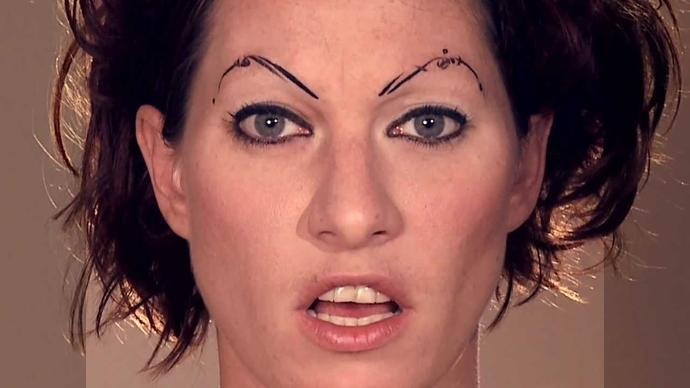 Do you like this singer's eyebrows?