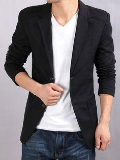 What you think about this blazer pair with skinny jeans, a white t-shirt, vans or converse, and aviator sunglasses?
