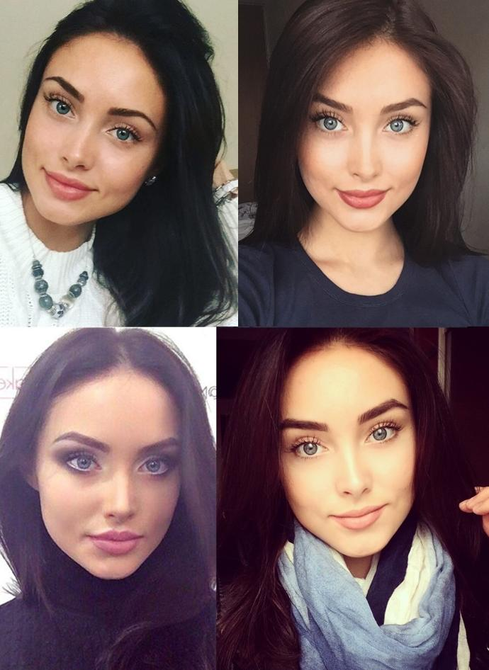 Which girl is the most attractive? (PICTURES)?