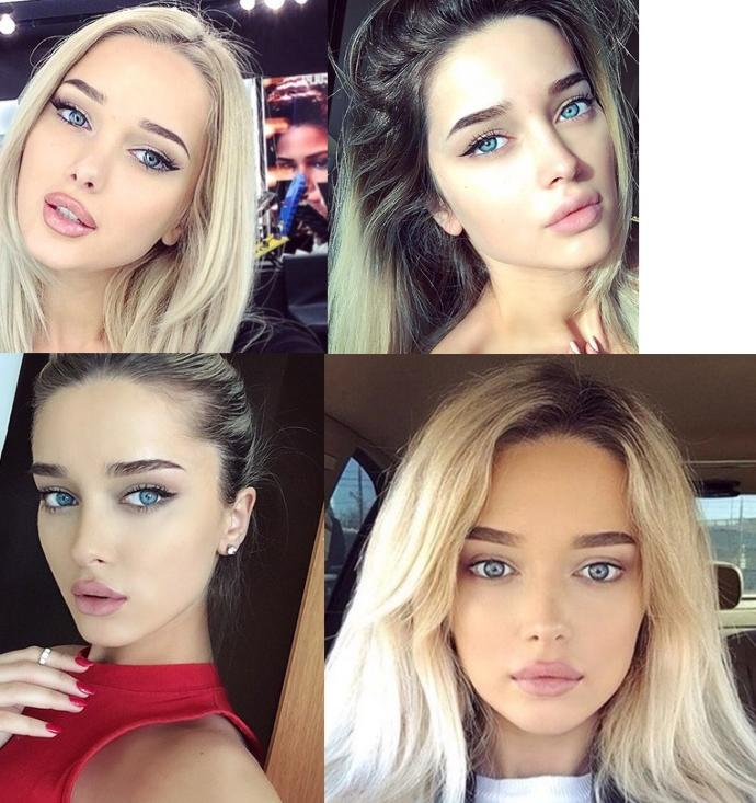 Which blue/green eyed woman is the PRETTIEST?