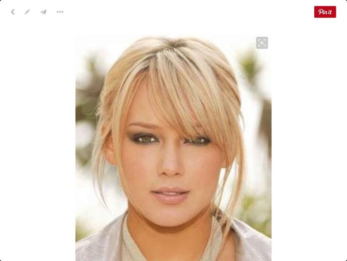 I am thinking of bangs which do you like best?