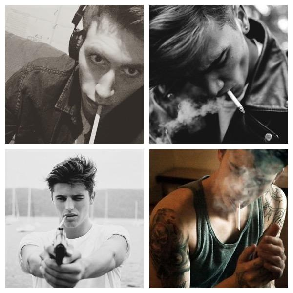 Girls, Why are bad boys who smoke attractive?