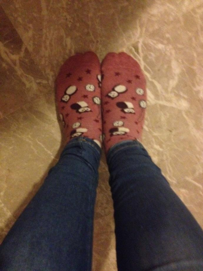 do you think my owl socks are cute?