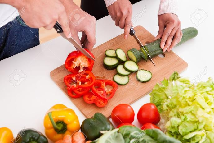 How good are you at chopping veggies?