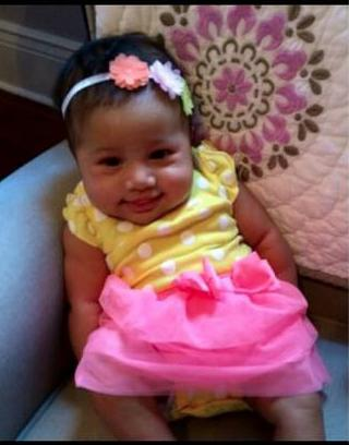 Guess which ethnic mix my baby niece is. Can you tell?