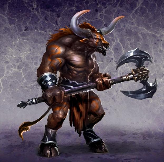 Rate this Mythological Creature: The Minotaur?