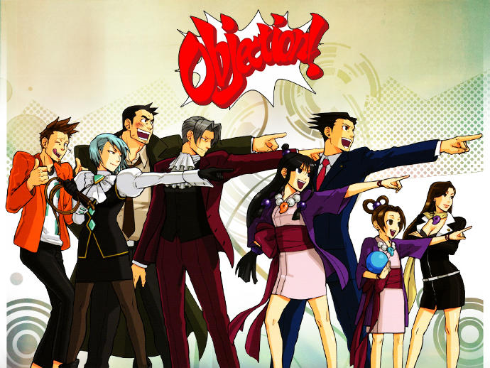 Have you seen the anime for Ace Attorney?