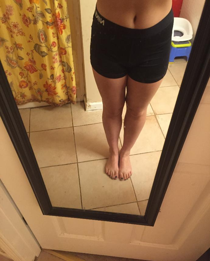 Are my legs too short and muscular?