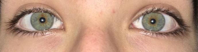 What color are my eyes. Hazel or green?