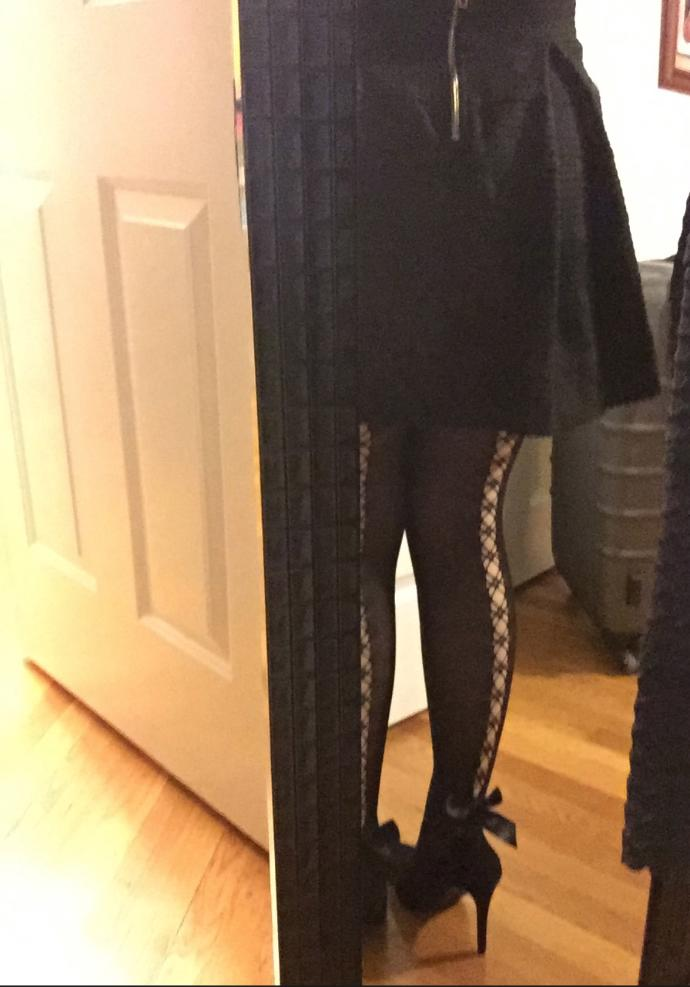 What to wear these tights with (girls and guys welcome!)?