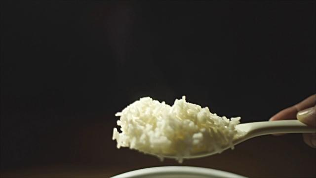 How do you eat rice and what country are you from?
