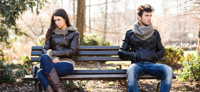 Did you ever settle into an exclusive relationship because you were tired of dating?