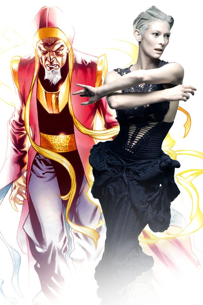 What's your opinion on Hollywood (Marvel studios) choosing a white woman to play a role that is supposed be an Asian man in Doctor Strange?
