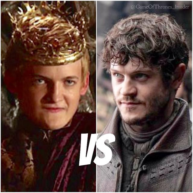Game of Thrones fans, who by far is the worst of these two characters: Joffrey vs Ramsay?