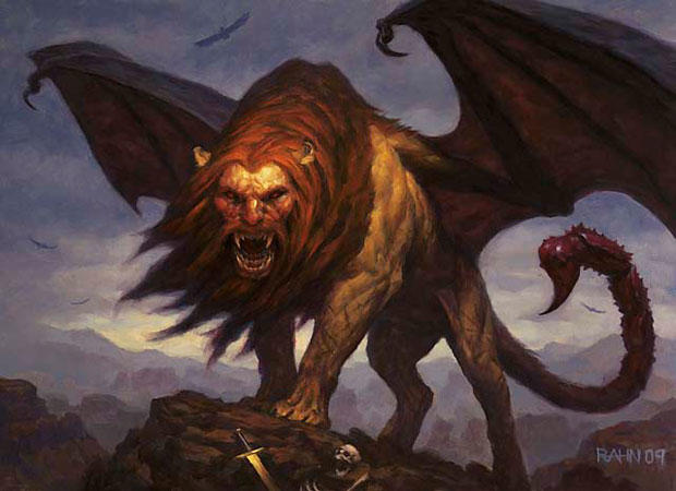 Rate this Mythological creature: The Manticore?