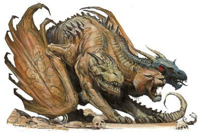Rate this Mythological creature: The Chimera?