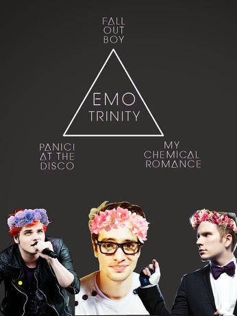 Any fans of the emo trinity out there?