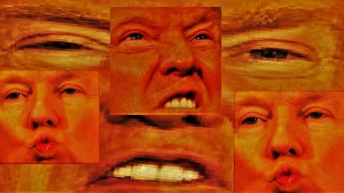 Why is Donald Trump orange?