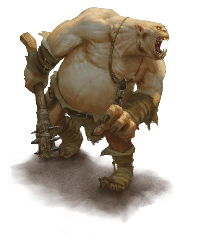Rate this Mythological creature: The Ogre?