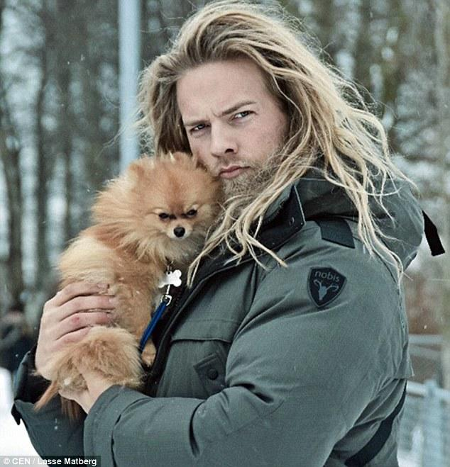 Lasse Matberg: A modern-day Viking. Do you girls find him particularly manly (or attractive)?