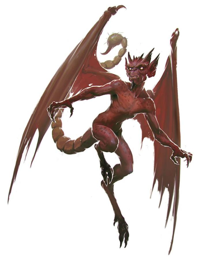 Rate this Mythological creature: The Imp?