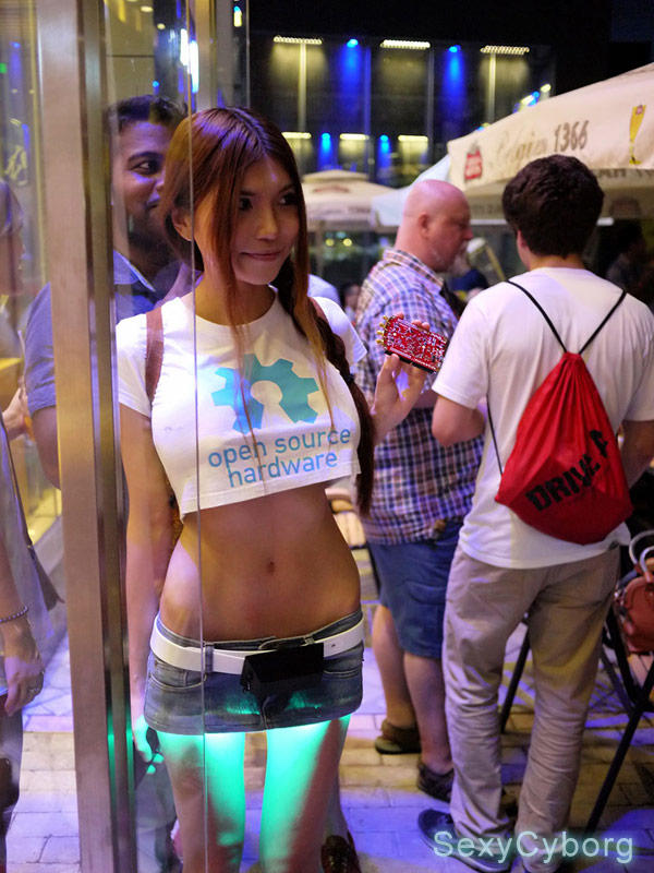 Would you wear a mini skirts that have LED lights ?