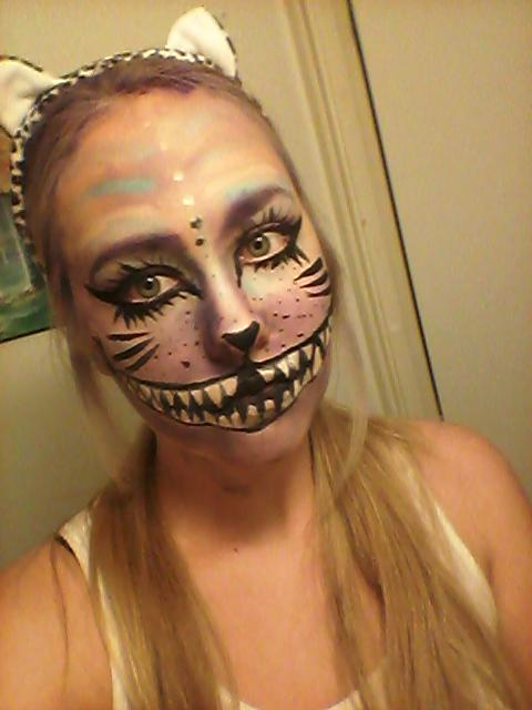 Rate my Cheshire Cat look?