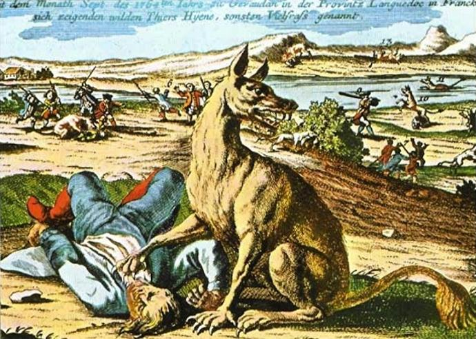What sort of creature do you think that the Beast of Gevaudan or