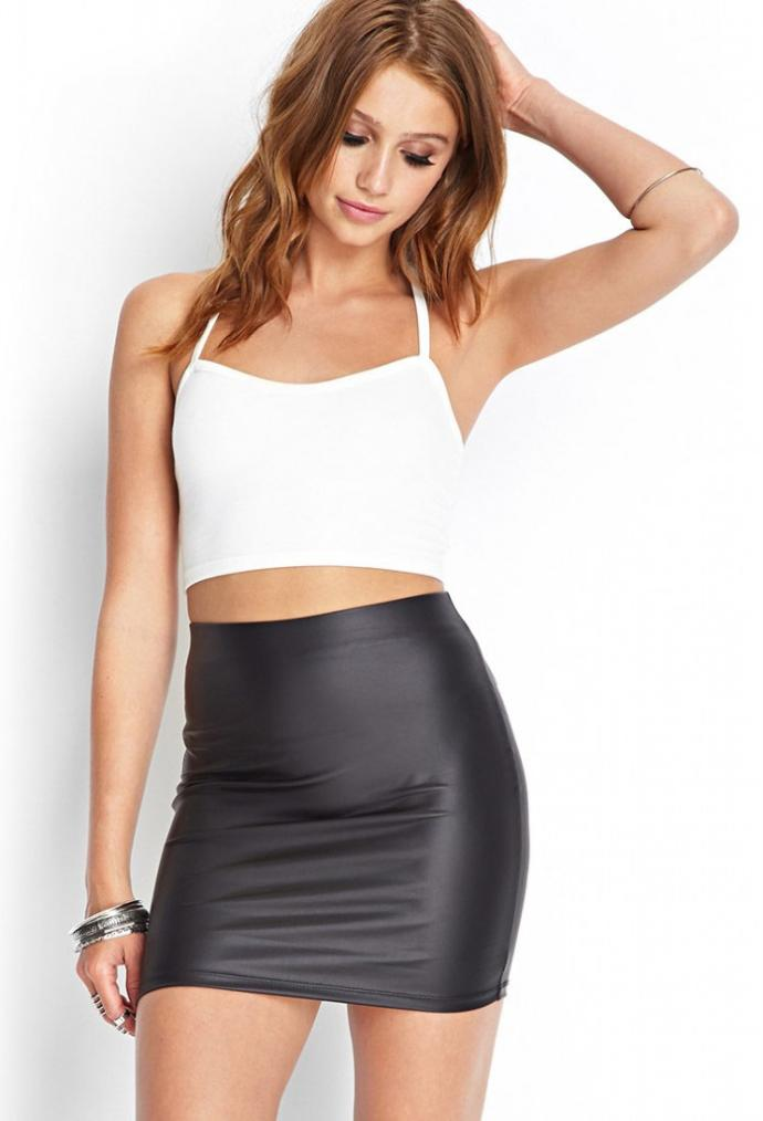 Girls, have you ever worn a leather skirt to school? Did you get unexpected attention? How did u feel wen u sat down?