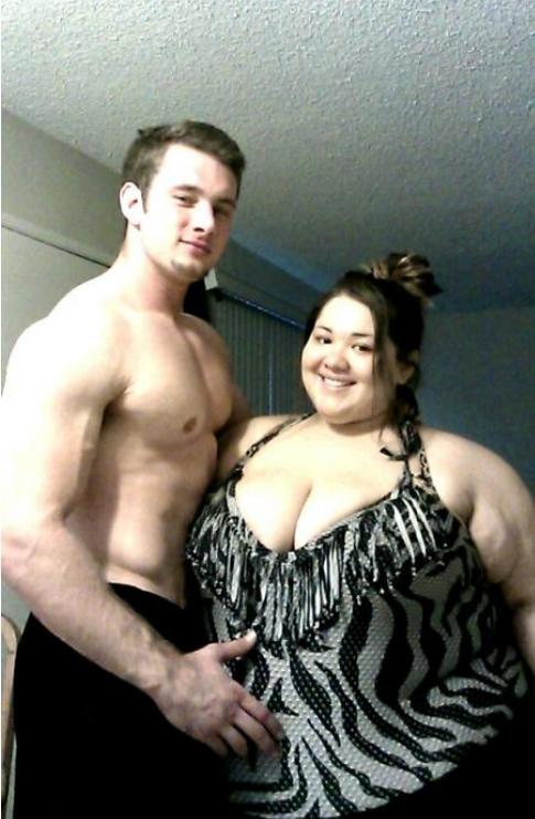 Hot guys who like fat girls