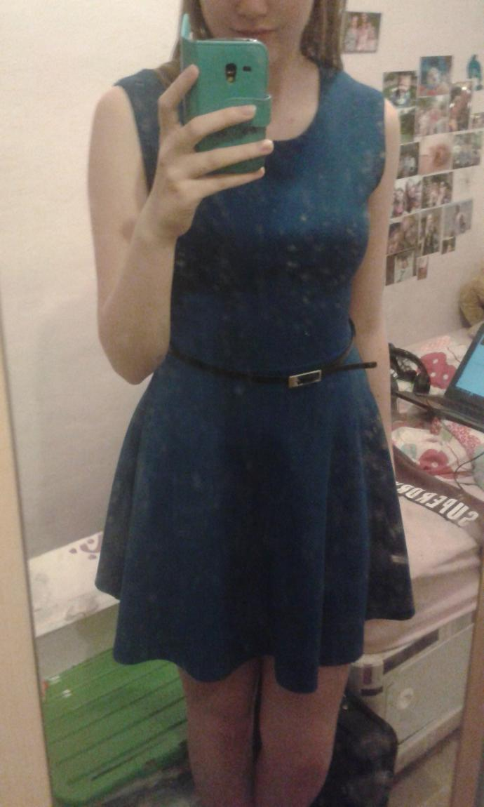 Does this dress look nice?