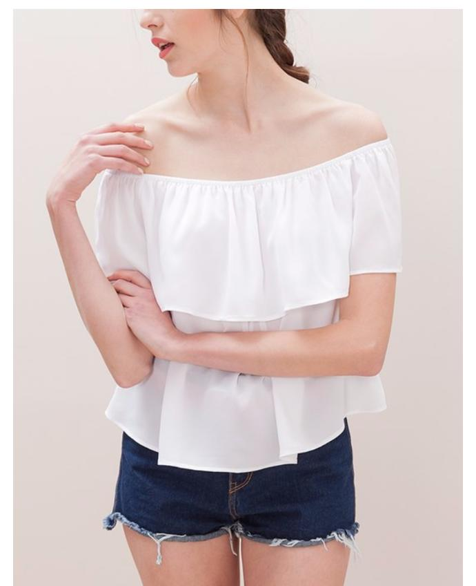 Off the shoulder trend, yes or no?