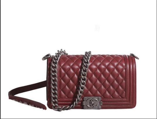 Do you like this maroon Chanel bag?