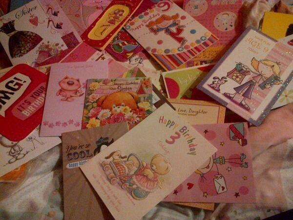 What do you usually do with old Birthday/greeting/christmas/etc cards from people?
