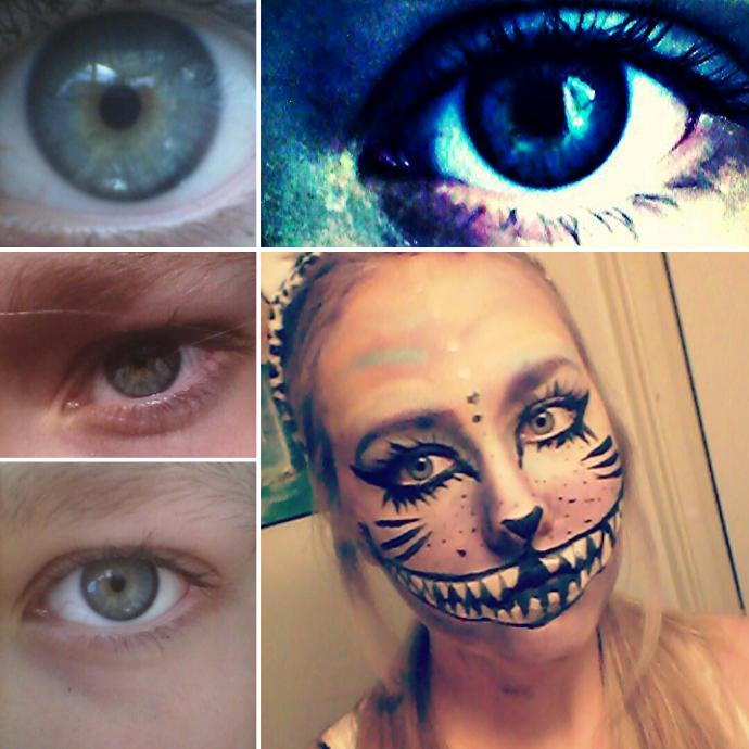 Rate my eyes, and what is the color of my eyes in your opinion? Help meeee!?