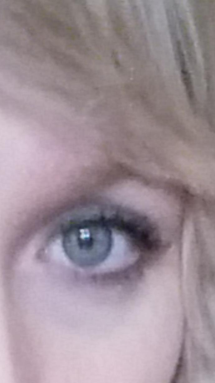 What eye color is this? Blue or green?