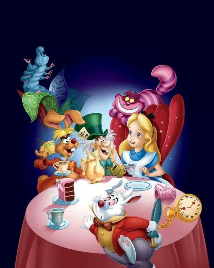 Have you see. Alice in wonderland the Disney animated movie ?