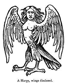 Rate this Mythological creature: The Harpy?