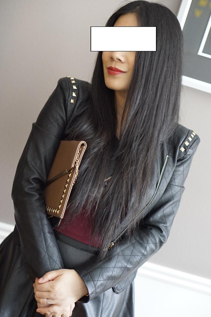 Leather jacket in the summer. Hot or not?