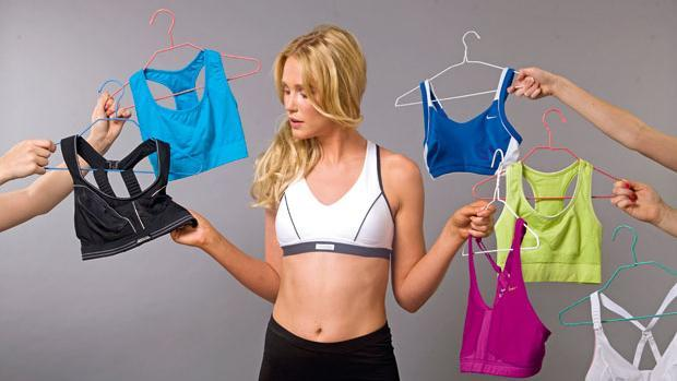 How would you pick out a sports bra just by it's physical appearance?
