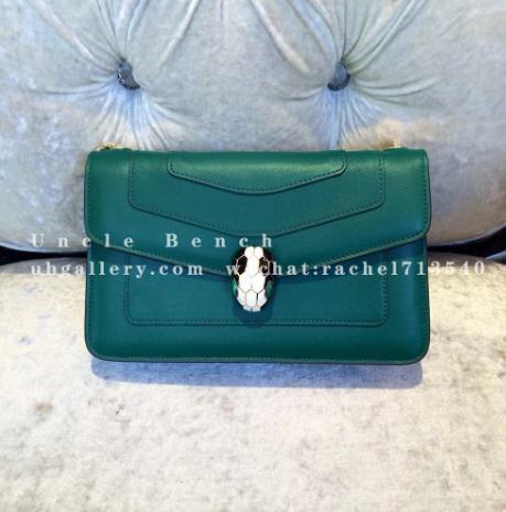 Do you like this green Bvlgari bag?