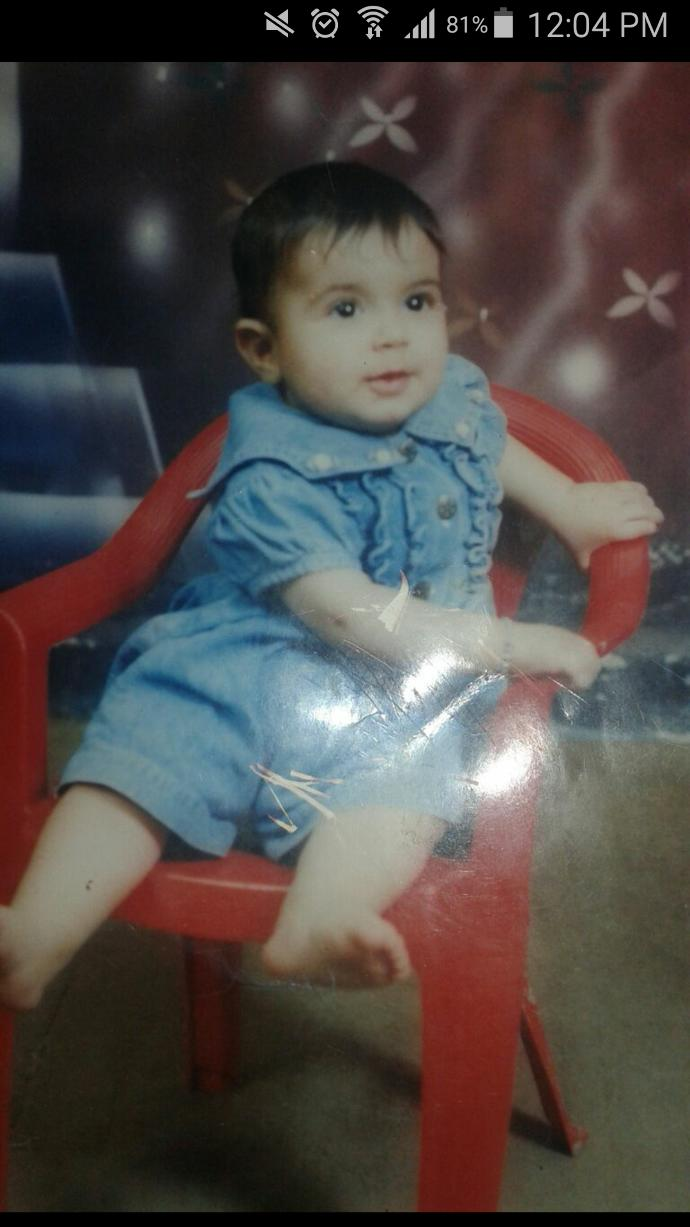 How do I look as a baby?