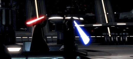 Okay GAGers, you are in a Star Wars Lightsaber Battle! Which GAGers are on your team? Who is on the opposite team?